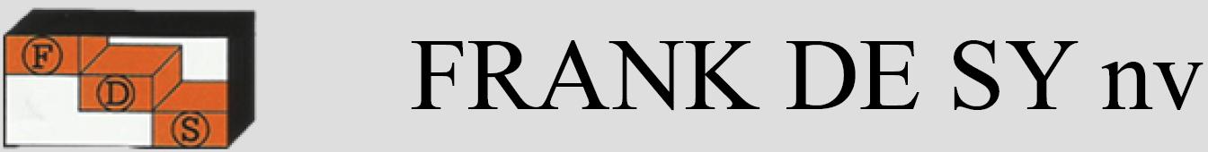 Frank De Sy NV Logo